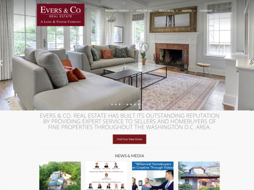 Evers and Company Real Estate Website