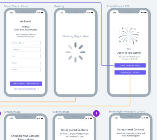 MVT Voter Registration App Concept