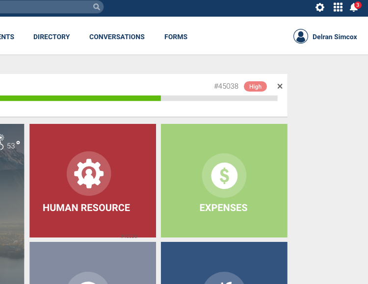 CSRA Portal Design Exploration